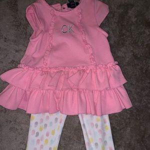 Toddler Girl Calvin Klein Matching Set